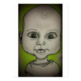 Bebé del dibujo animado postales