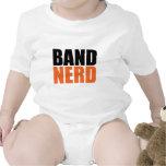 Bebé del empollón de la banda camiseta
