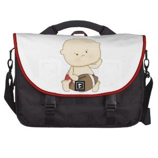 Bebé del fútbol bolsa para ordenador