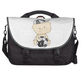 Bebé del fútbol bolsas de portátil
