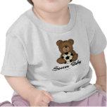 Bebé del fútbol camisetas
