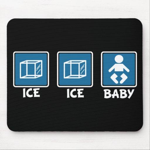 Bebé del hielo del hielo alfombrilla de ratones