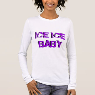 Bebé del hielo del hielo de SkateChick Playera De Manga Larga