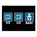 Bebé del hielo del hielo postales