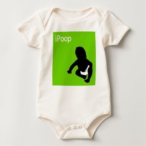 bebé del iPoop Traje De Bebé