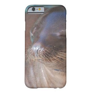 Bebé del león marino funda para iPhone 6 barely there