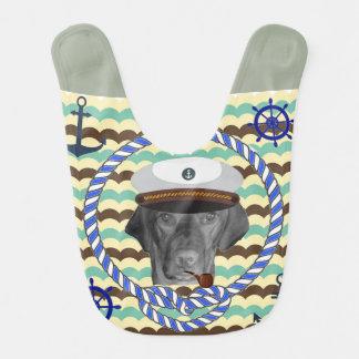 Bebé del marinero baberos de bebé