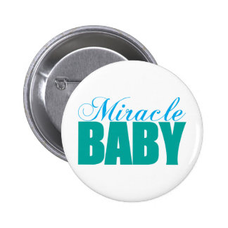 Bebé del milagro pin redondo 5 cm