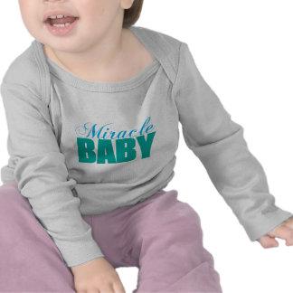 Bebé del milagro camisetas