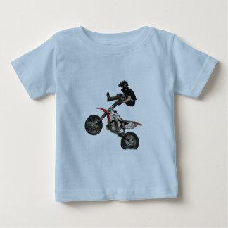 bebé del motocrós playera de bebé