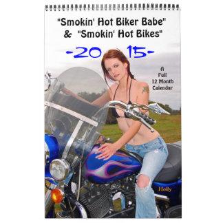 Bebé del motorista de Smokin'Hot/calendario de las
