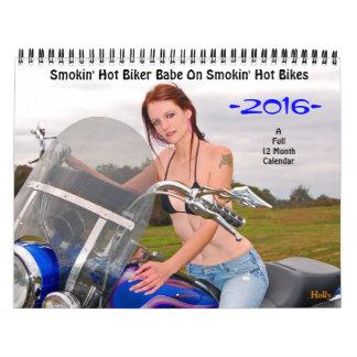 Bebé del motorista de Smokin'Hot/calendario de las Calendario