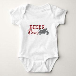 Bebé del motorista playera