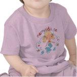 Bebé del niño de little mermaid camiseta