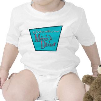Bebé del oficio de enfermera del comensal de la trajes de bebé
