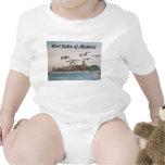Bebé del pájaro de la correa eslabonada del niño d camiseta