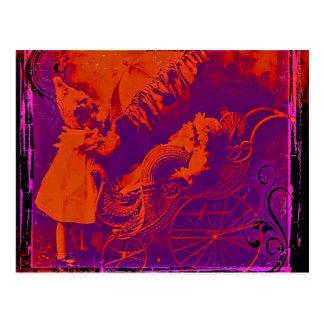 Bebé del peluche tarjetas postales