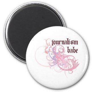 Bebé del periodismo imán
