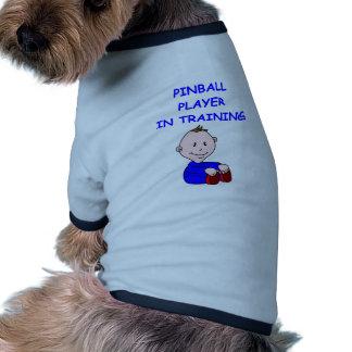Bebé del PINBALL Camisa De Mascota