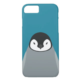Bebé del pingüino de emperador - caso del iPhone Funda iPhone 7