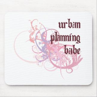 Bebé del planeamiento urbano alfombrillas de raton