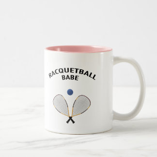 Bebé del Racquetball Taza De Café