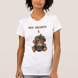 Bebé del recluta del New Camiseta