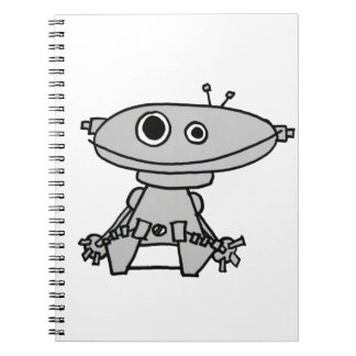 Bebé del robot libreta espiral