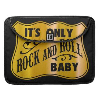 Bebé del rock-and-roll de It´s solamente Fundas Para Macbooks