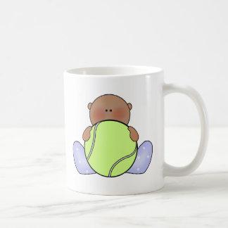 Bebé del tenis de Lil - étnico Taza De Café