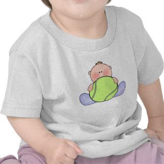 Bebé del tenis de Lil Camiseta