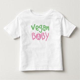 Bebé del vegano playera
