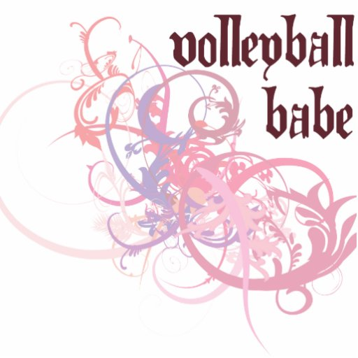 Bebé del voleibol adorno fotoescultura