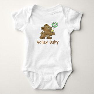 Bebé del voleo t shirts