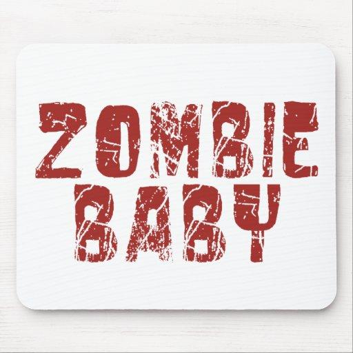 bebé del zombi alfombrilla de ratones
