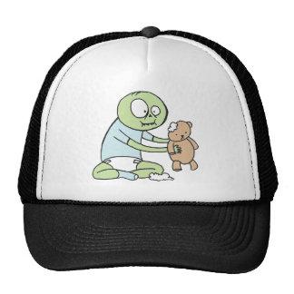Bebé del zombi gorras de camionero