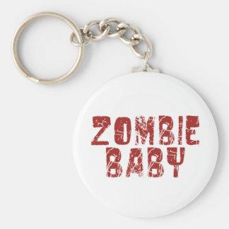 bebé del zombi llavero redondo tipo pin