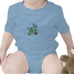 Bebé divertido trajes de bebé