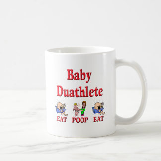 Bebé Duathlete 2 Taza Básica Blanca