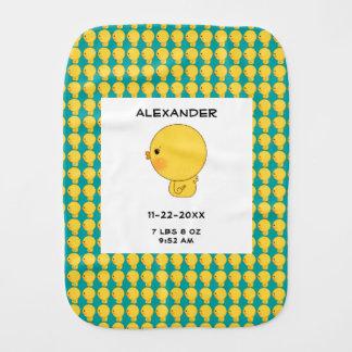 Bebé Ducky del pequeño pato de goma lindo del Paños Para Bebé