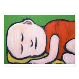 Bebé durmiente Buda arte pop del Buddhism