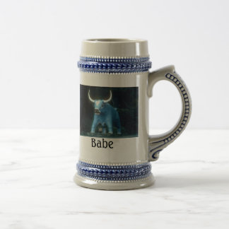 Bebé el buey azul, bebé jarra de cerveza