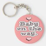 Bebé en la manera llaveros personalizados