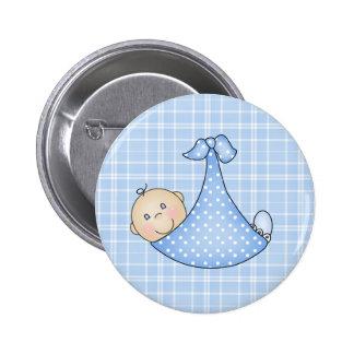 Bebé en manta pins