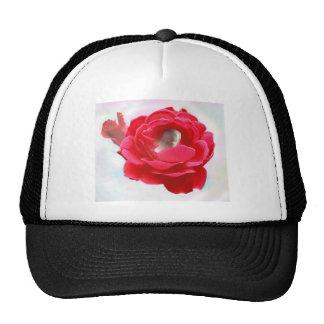 Bebé en un color de rosa gorra