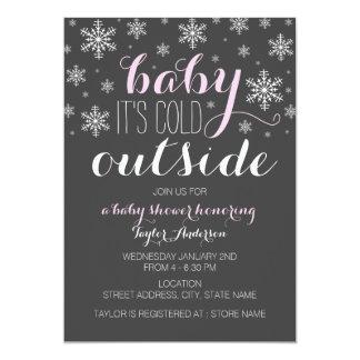 Bebé es exterior frío - la fiesta de bienvenida al comunicado personal