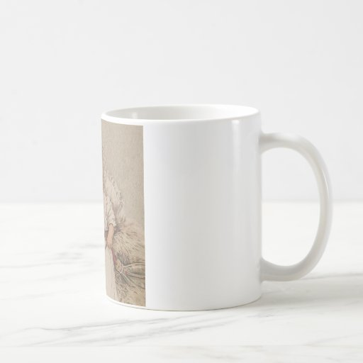 Bebé esquelético taza de café