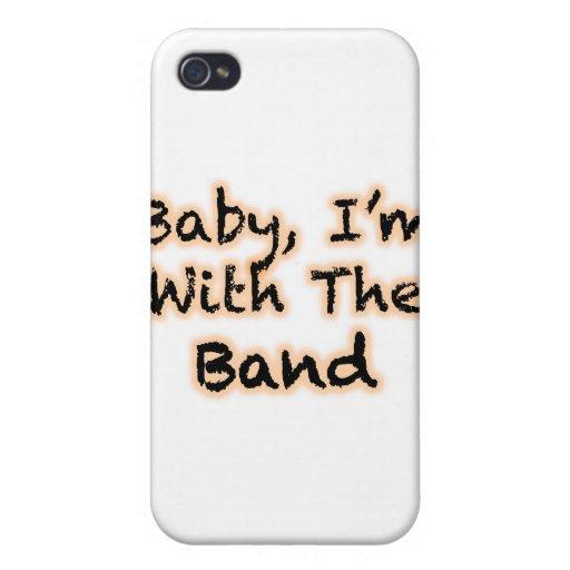 Bebé, estoy con la banda iPhone 4 carcasa