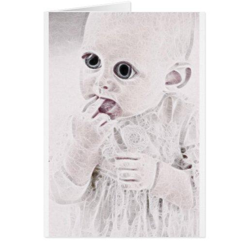 Bebé extranjero 3 de YouMa Tarjeta De Felicitación