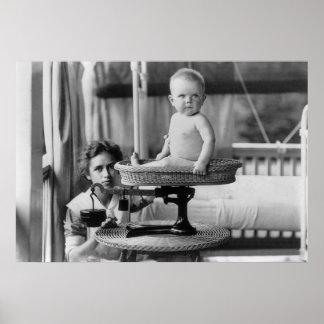 Bebé Fat, 1912 Póster